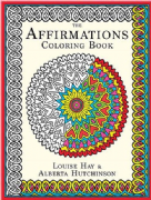 Affirmations Colouring Book - Louise Hay, Alberta Hutchinson